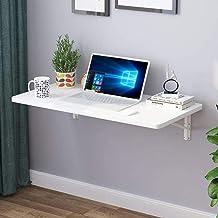 SYLTL Składany stół montowany na ścianie, składany stół do jadalni w kuchni, stół w biurze domowym, stół dziecięcy z liteg...