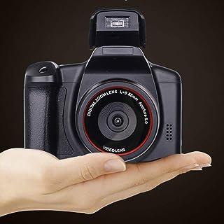 Cámara Digital Vlogging Camera Video Camera, 1080P Ultra HD LCD Screen 2.4 Inch 16X Digital Zoom, Anti-Shake Cameras for B...