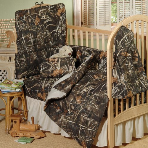 Realtree Max-4 Crib 3-Piece Set