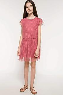 DeFacto Tül Detaylı Elbise