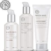 [THEFACESHOP] Korean Skin Care Set - Toner, Serum, and Cleansing Foam Brightening White Seed Gift Set