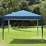 CharaVector Pop Up Canopy Tent 10 x 10 ft Heavy Duty Gazebo Commercial Instant Canopies Outdoor tent Party Wedding Exhibition Pavilion BBQ Beach
