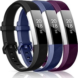 CreateGreat Bands Compatible for Fitbit Alta,Alta HR,Ace,Adjustable Replacement Sport Accessory Bands Wristbands Strap for Fitbit Alta/Alta HR/Ace Women Men
