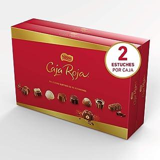 comprar comparacion Nestlé Caja Roja Bombones de Chocolate - Bombones 2x800g