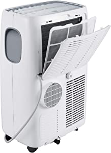 Emerson Quiet Kool Emerson Smart Heat/Cool Portable Air Conditioner with Remote Wi-Fi and Voice Control for Rooms up to 550-Sq. Ft, 14000 BTU, WiFi, White