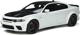 GT-SPIRIT 1/18 DODGE CHALLENGER SRT HELLCAT REDEYE 2021 WHITE BLACK GT357