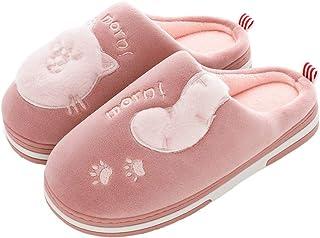 Pantofole da donna a forma di dinosauro, morbide e calde, antiscivolo, comode scarpe da casa, per interni ed esterni