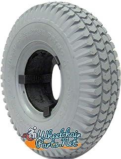 4x steering role Luftrad 260mm x 85mm 3.00-4 Air Tyre Wheel Needle Bearing 130kg Tyres