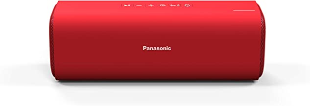 Panasonic Portable Wireless Bluetooth Speaker with 2 Powerful 50mm Driver Unit, 10W Stereo Sound and up-to 8 Hours Playbac...