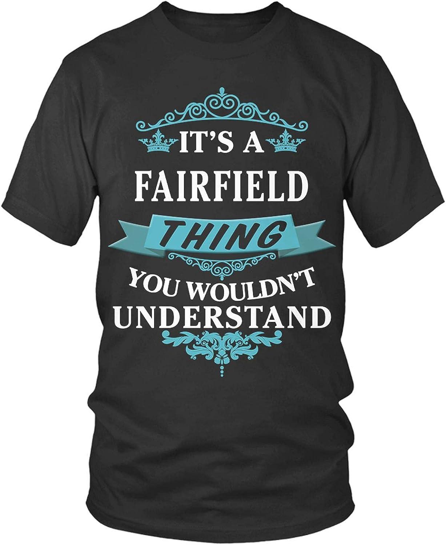 Fairfield Shirt Family Crest, Fairfield Shirts, Fairfield t Shir
