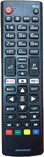comprar comparacion Nuevo Mando de reemplazo para el LG TV AKB75095308 Ajuste para Varios TV Ultra HD de LG con Netflix Amazon Botones 43UJ630...