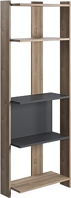 Movian Ruby Wide Bookcase-Oak