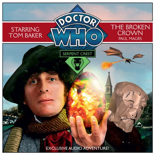 『Doctor Who: Serpent Crest Part 2 - The Broken Crown』のカバーアート