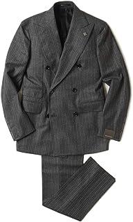 TAGLIATORE タリアトーレ 6B ダブル スーツ チョークストライプ ウール 2SVJ20D11
