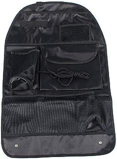 Multifunción del asiento de coche del almacenaje del bolso del coche cubre la parte trasera del asiento Organizador Auto múltiples Titular de bolsillo organizador del bolso surtidos bolsa contenedora
