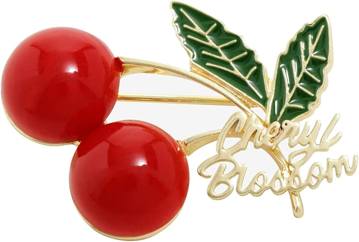 Riverdale Cheryl Blossom Red Cherries Brooch Pin Replica Hot Topic Exclusive Licensed