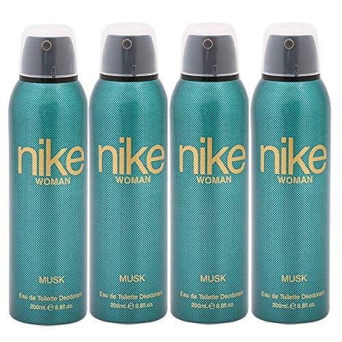 Nike Women Musk Deodorant Combo Pack Of 4 (200ml Each)