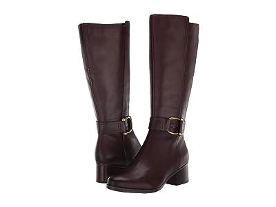 Naturalizer Daelynn Wide Calf (Chocolate Leather) Women