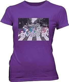 Friendship Is Magic Pony Road Juniors Purple T-shirt (Juniors)