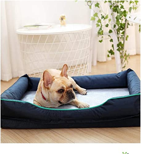 calidad auténtica Wuwenw Pet Doghouse Summer Dual-Uso Dog Dog Sofá Mat Extraíble Extraíble Extraíble Cool, M, A  Entrega gratuita y rápida disponible.