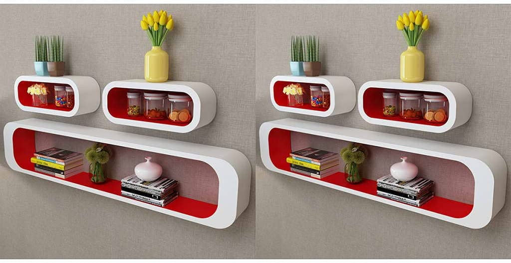 Ranking integrated 1st place Lowest price challenge 6 PCS Floating Shelves for Room Wall Kids Bookshelf