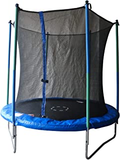 Body Sculpture BB-810-120 Trampoline for Outdoor Play - Black and Blue