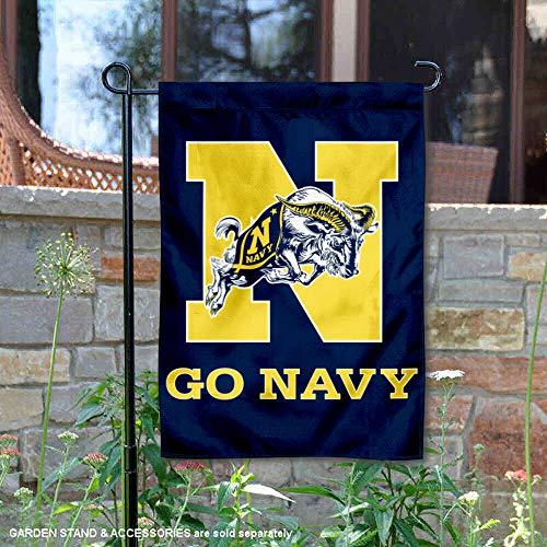 Navy Garden Flag and Yard Banner