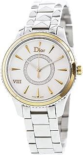Dior Women's Montaigne CD1521I0M001 Silver Stainless-Steel Quartz Dress Watch