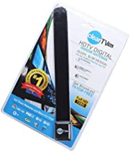 JKLcom Clear TV Key Clear TV Digital Indoor Antenna HD TV Free TV Digital Receive Satellite TV Indoor Antenna Ditch Cable As Seen on TV