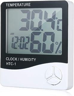 Anself HTC-1 TEMP&humidity clock white