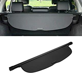 MotorFansClub for Honda CR-V CRV 2017-2019 Rear Trunk Cargo Cover Security Shade Shield Black (US Shipment) (Cargo Cover)
