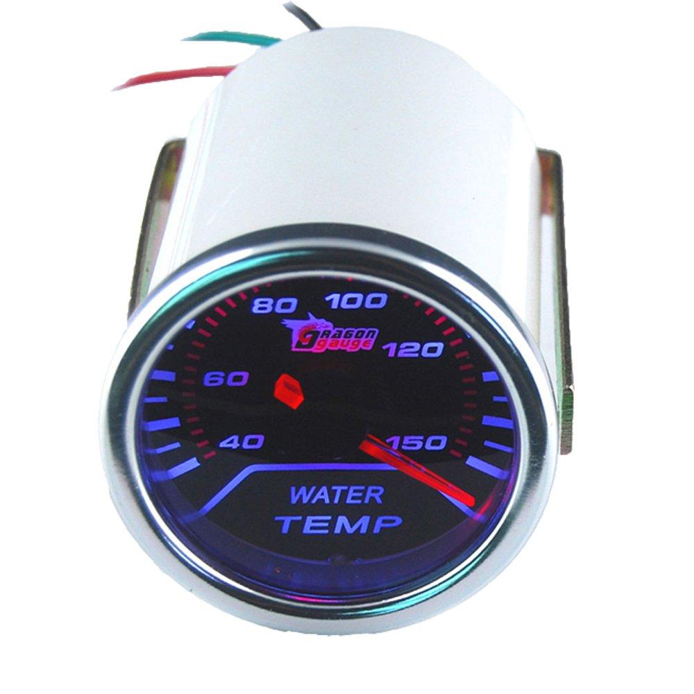 Bosch SP0F000053 Style Line 2 Mechanical Water//Oil Temperature Gauge Black Dial Face, Black Bezel