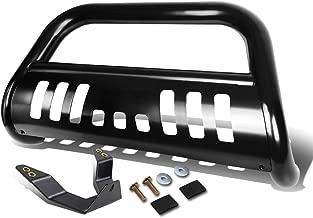 For Chevy/GMC Silverado/Sierra GMT800 3 inches Black Bumper Push Bull Bar + Skid Plate + Relocation Kit