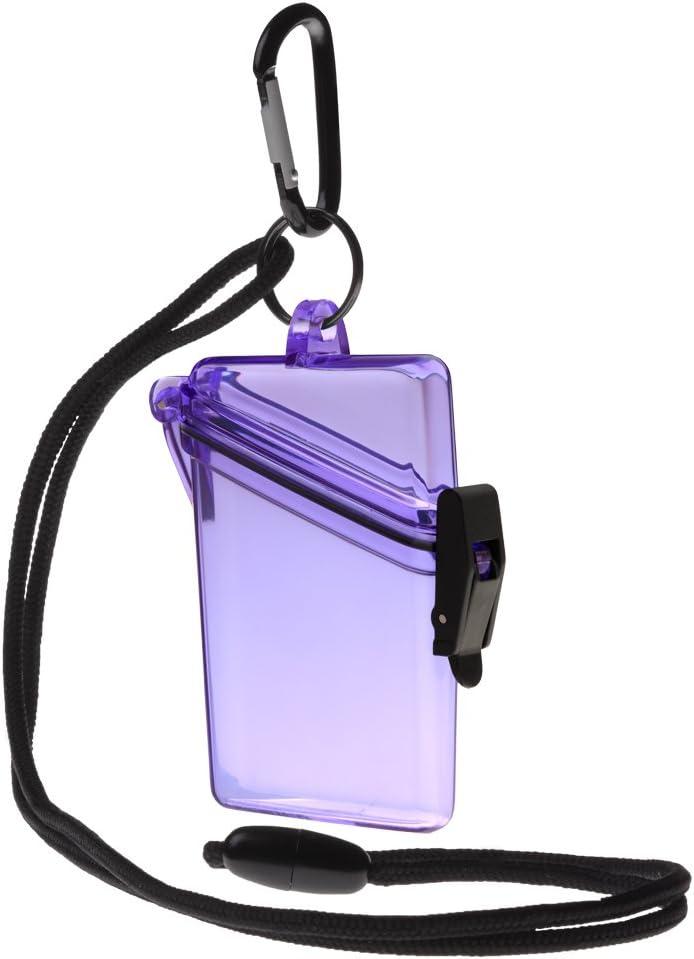Witz See it Max 78% OFF Safe Waterproof Badge Case Over item handling ID Holder