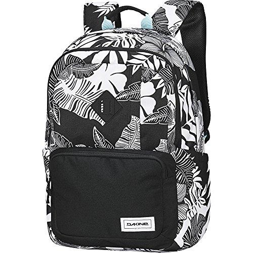 Dakine Alexa 24L Rucksack schwarz/weiß – Rucksäcke (schwarz/weiß, Motiv: Unisex, Vordertasche, Seitentasche, Reißverschluss, 440 mm)