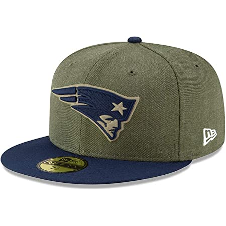 New Era New England Patriots 59fifty Basecap on Field 2019 Salute to Service