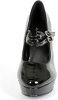 Size 7 Jane-421 Adult Shoes Black