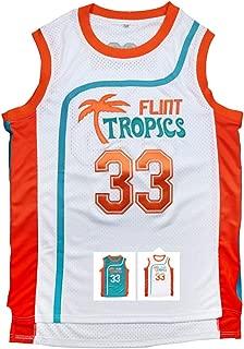 Yeee JPEglN Moon 33 Flint Tropics Basketball Men Jersey S-XXXL Green