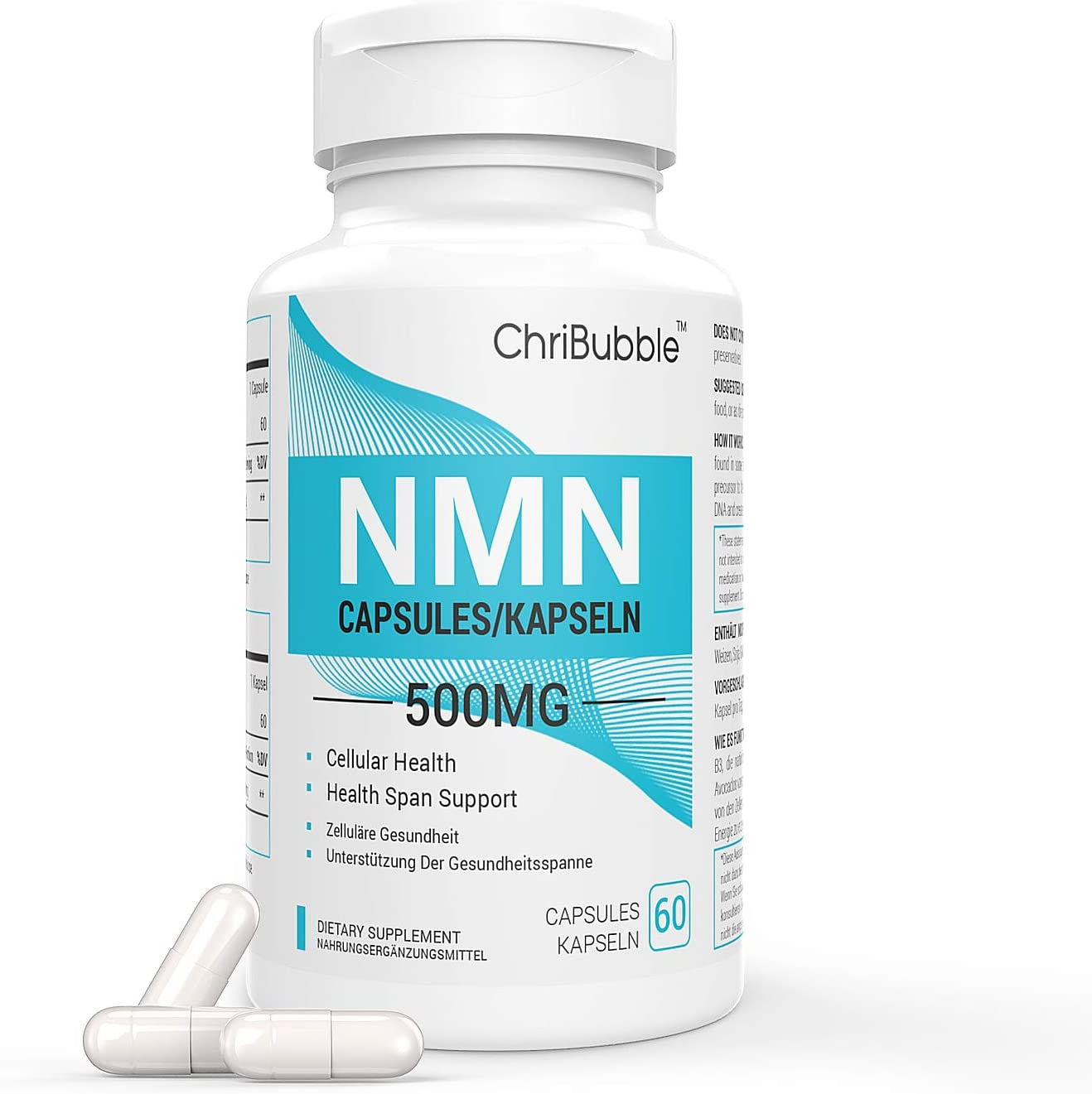 Max 54% OFF NMN Stabilized Form safety Supplement NAD Longevity Supports Energy