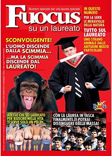 Bombo Biglietto Auguri rivista settimanale Laureato