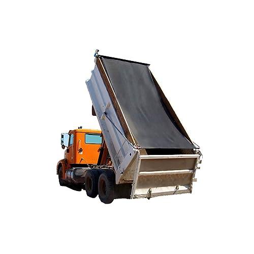 Dump Truck Mesh Tarp 8X16 - Black Tentproinc Heavy Duty Cover With 6