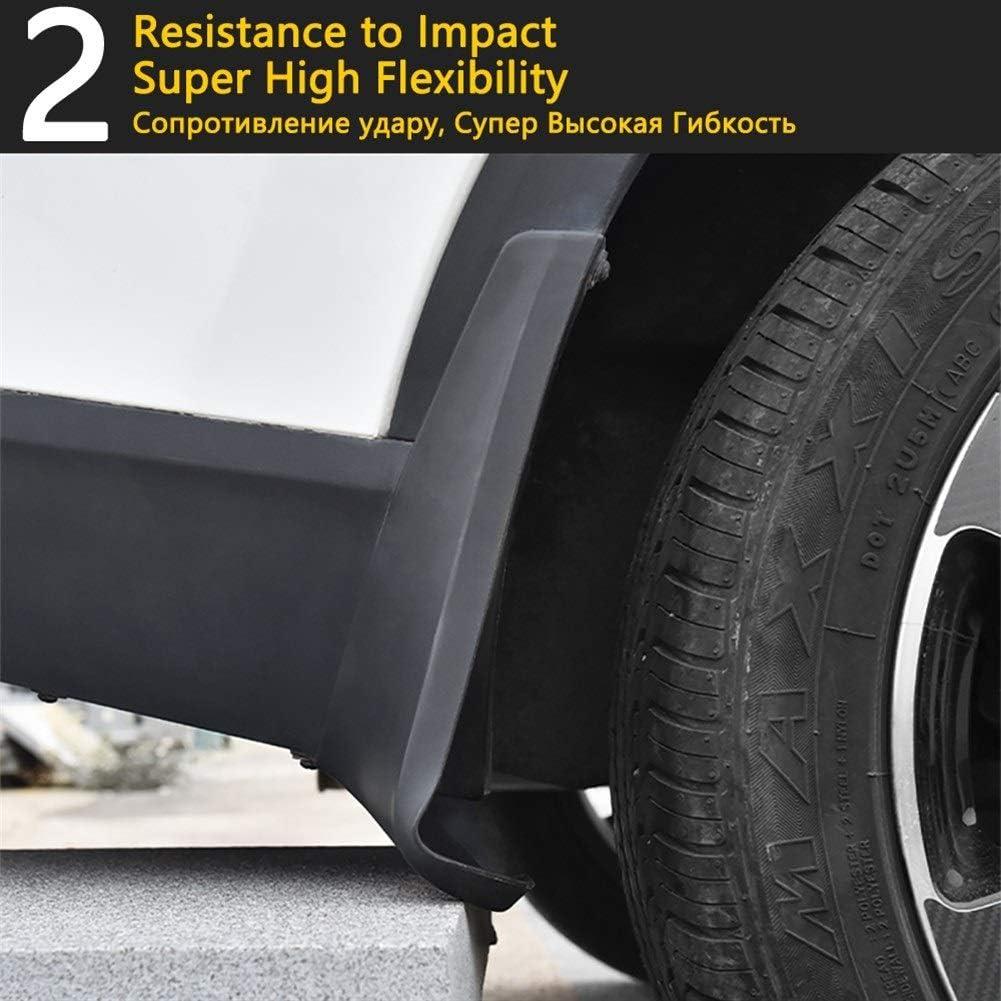 Front Rear Mudflap Fender Mudguard Mud Flaps Guard Splash Flap Car Accessories For Passat CC 2009~2016 Mudguard Mud Flaps Size : Fit After Facelift