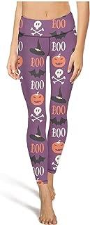 Running Leggings Female Pajama Pants Halloween Ghost Scarybat Green Yoga Pants