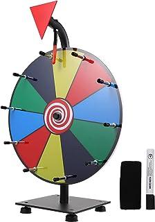 Gadpiparty Spin het wiel voor prijzen uitwisbare plastic spel spinners wiel roterende pijlen wiskunde spinner 1 set