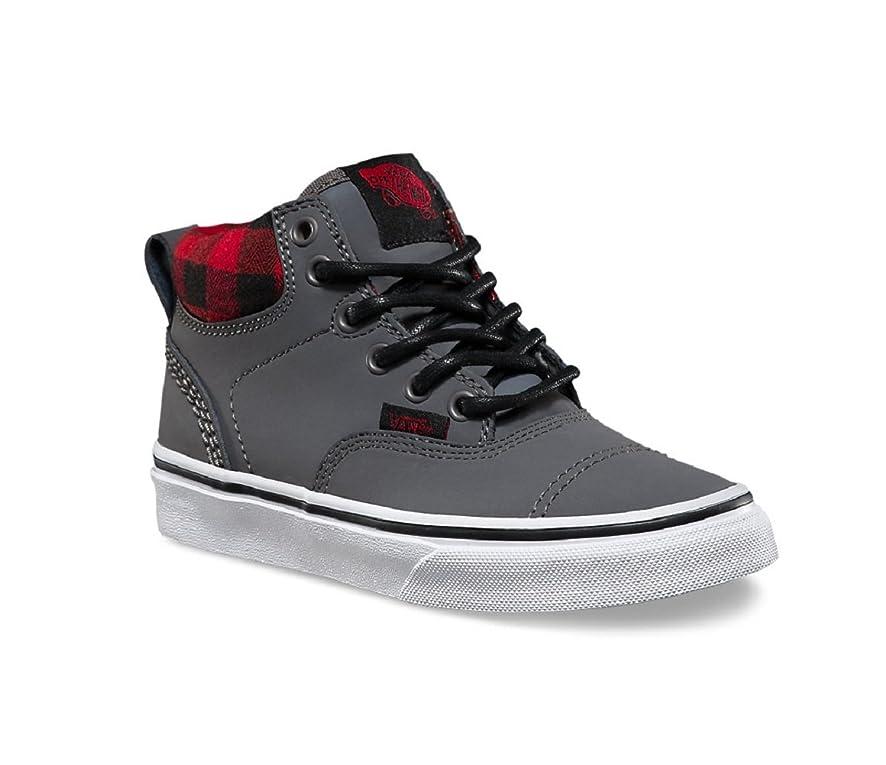Vans Boy's Era Hi (MTE) Nubuck/Grey Skateboarding Shoes VN000302I2K