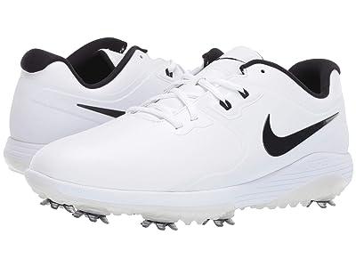 Nike Golf Vapor Pro (White/Black/Volt) Men