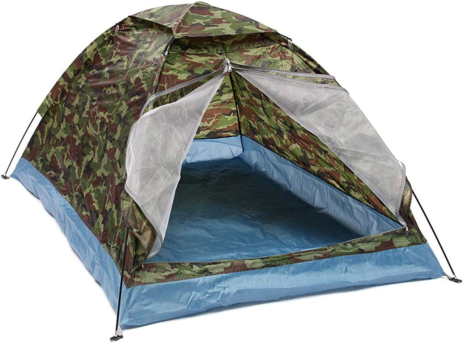 Outdoor Camping Tent 23 Person Beach Tent Portable Folding Waterproof Dome Tent for Hiking Durable Sets Up in Seconds with Carry Bag