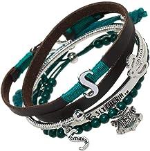 Harry Potter Slytherin Bracelet Set - 4 Pack