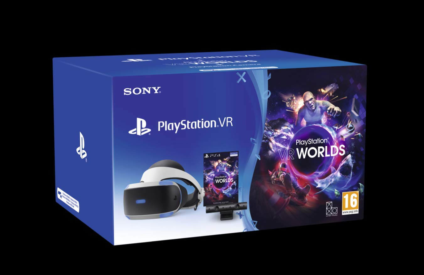 PlayStation 4 - PS VR Mk4 + Camera + Gioco VR Worlds (Voucher ...