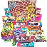 Heavenly Sweets Geschenkbox Amerikanische Süßigkeiten & Schokolade - Klassische USA-Marken-Box voller Leckereien - Ideales Geschenk für Geburtstag, Weihnachten, Halloween - 27...